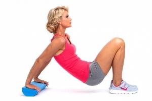 Полуцилиндр для фитнеса, йоги, пилатеса BRADEX SF 0282