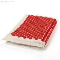Массажер-иппликатор медиц. Тибетский Большой коврик красный (аппликатор)