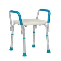 Табурет для ванной комнаты для сидения Lux 585 с поручнями