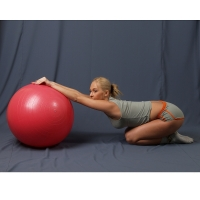 Мяч гимнастический красный Ортосила L 0165 b