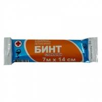 Бинт медицинский стерильный 7м * 14см