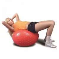 Мяч гимнастический красный Ортосила L 0565 b