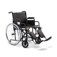 Кресло-коляска для инвалидов Н 002 пневмо