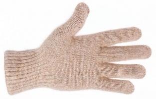 Перчатки 70% шерсть с пухом верблюда