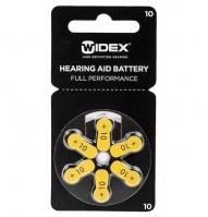 Батарейка слуховая, воздушно-цинковая 10