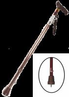 Трость опорная алюминиевая с УПС Е-0612у