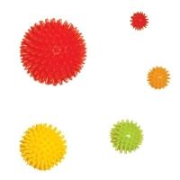 Мяч массажный с шипами ММ9