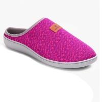 Туфли домашние LM-803.016 Жаккард пурпур
