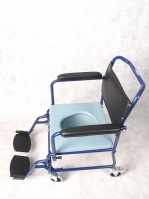 Кресло-коляска с санитарным оснащением Ergoforce Е 0811С